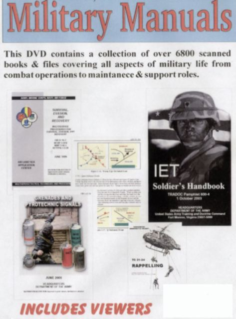Military Manuals DVD