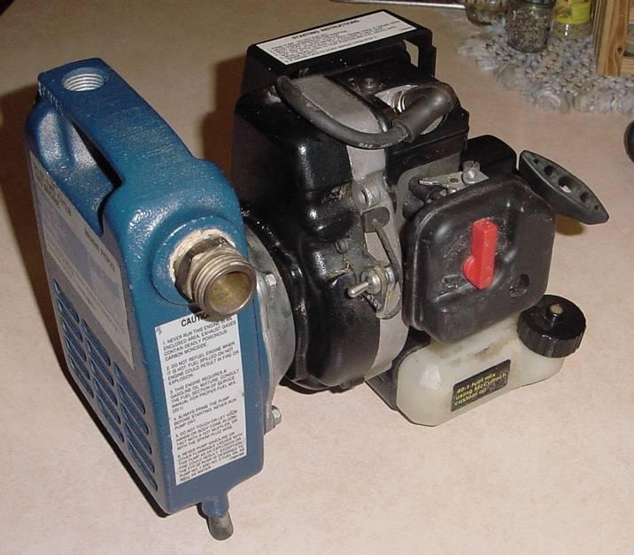 Blue Angel Gas Powered Fluid Pump