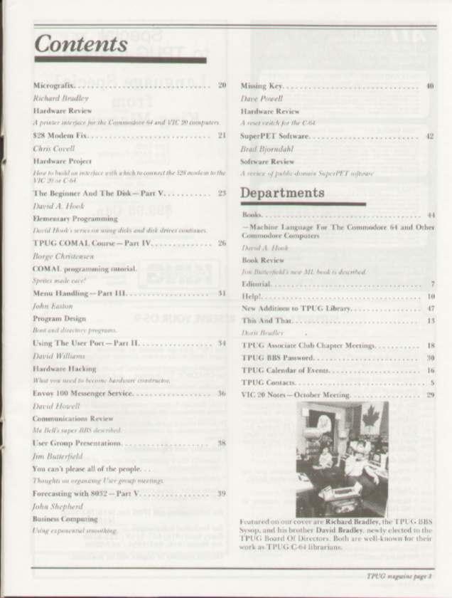 Issue Dec 1984 Content