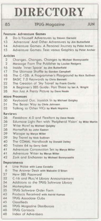 Issue Jun-Jul 1985 Content